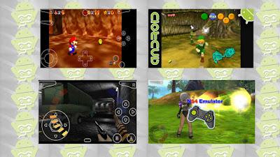 ▶ Mejores Emuladores de   Nintendo64 para Android + ROMS