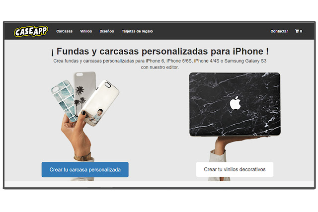 CaseApp website Spain