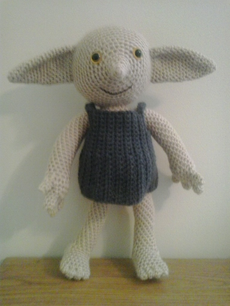 Knitting Pattern For Dobby The House Elf : Crochet Fanatic: DOBBY THE HOUSE ELF DOLL