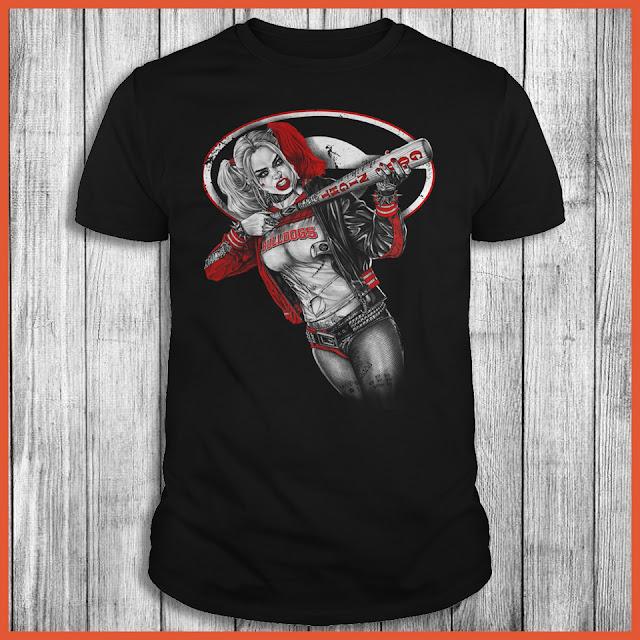 Georgia Bulldogs Harley Quinn Shirt