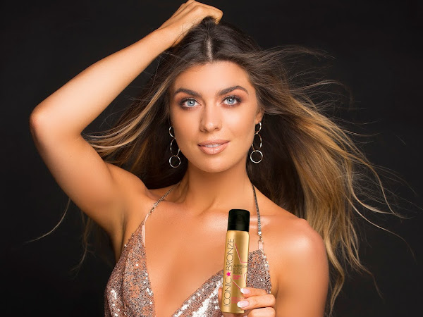 Ireland's Favourite Tanning Brand Iconic Bronze Launch Must-Have Airbrush Body Bling With Stunning Model Aisling Quinn