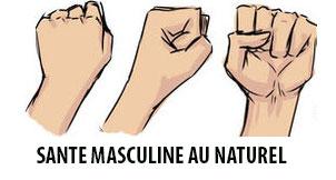 Sante masculine au naturel