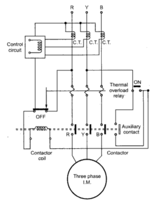 Single Phase Preventer on wiring diagram for 3 phase motor control
