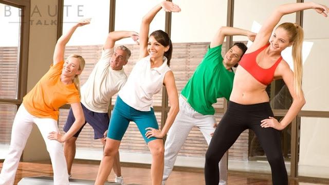 tập thể dục giảm cân tại nhà