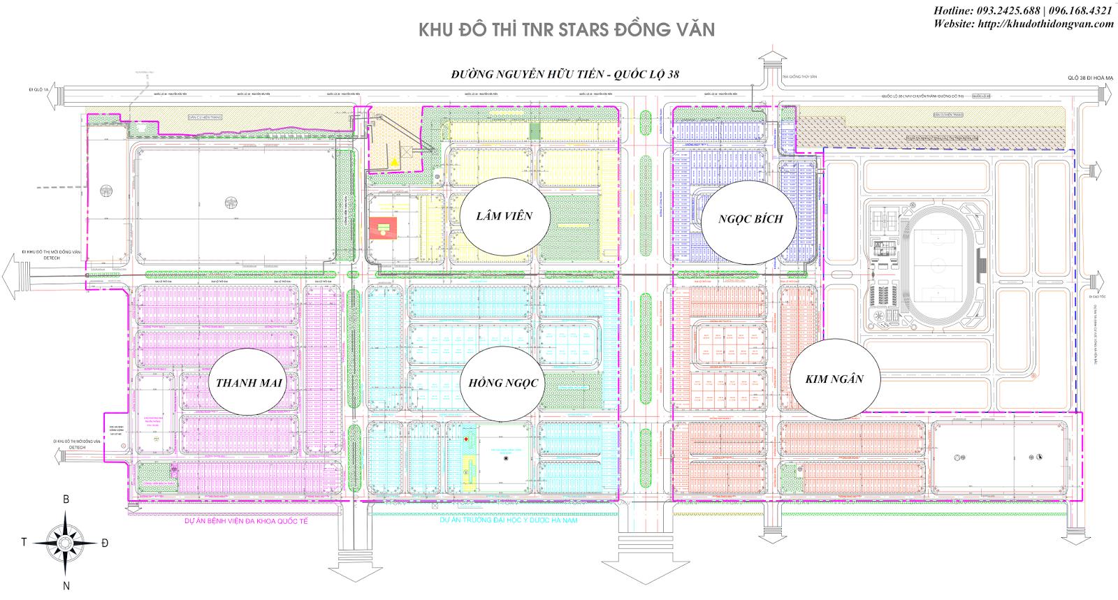 Thiết kế TNR Star Đồng Văn