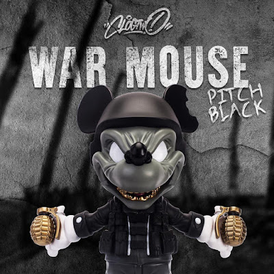 War Mouse Pitch Black Edition Vinyl Figure by Clogtwo x Mighty Jaxx