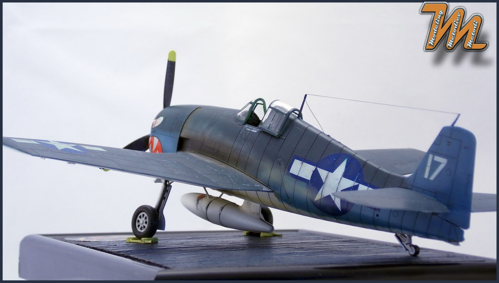 F6F-3 Hellcat, VF-27, scale model