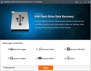 IUWEshare USB Flash Drive Data Recovery 5.1.1.8 Unlimited Full Crack