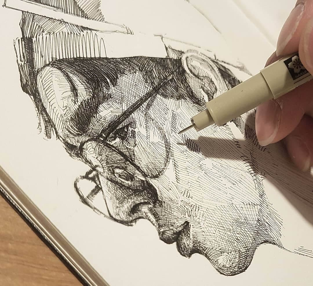 13-Yun-Ho-Kim-Expressions-in-Different-Pencil-Portrait-Styles-www-designstack-co