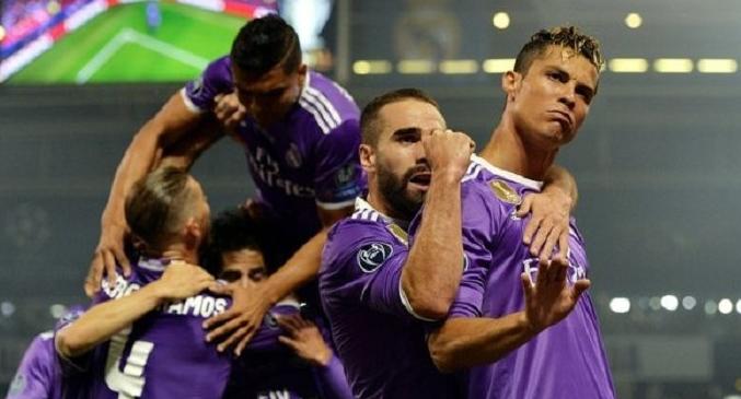Gol Pertama Real Madrid Kontra Juventus