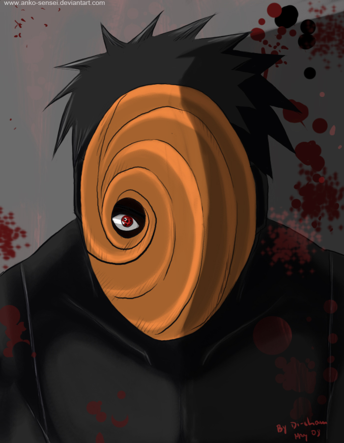 Who is behind in the mask of Uchiha Madara Anime Jokes