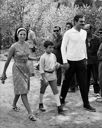 Omar, Faten and Tarek in 1965