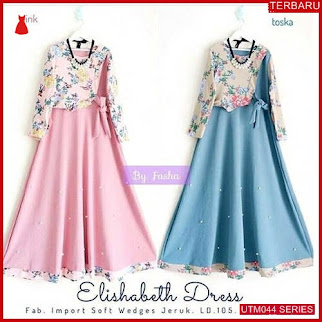 UTM044E75 Baju Elisabeth Muslim Dress UTM044E75 02C | Terbaru BMGShop