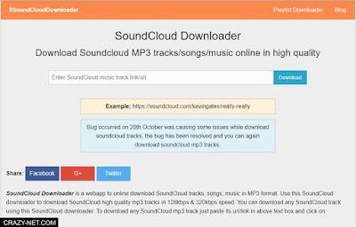 طريقة تحميل الاغاني من soundcloud باكثر من طريقة و بدون برامج