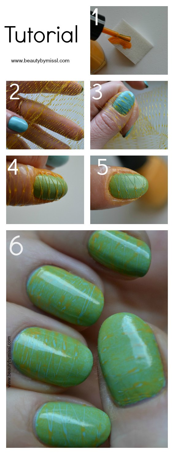 Net manicure tutorial