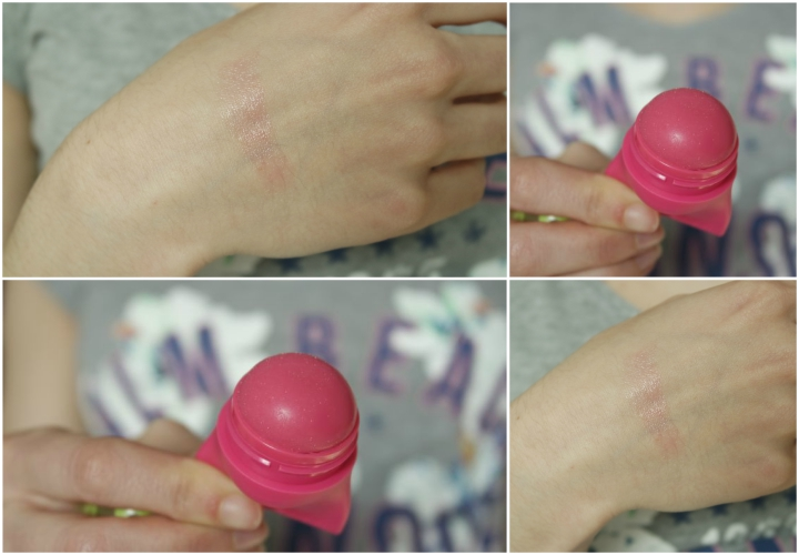 swatch du baby lips and balm flirty pink