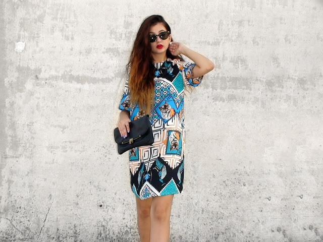 printed dress outfits