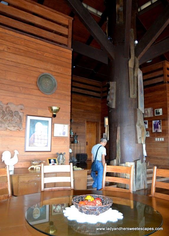 interiors of Mitra's Mansion in Puerto Princesa