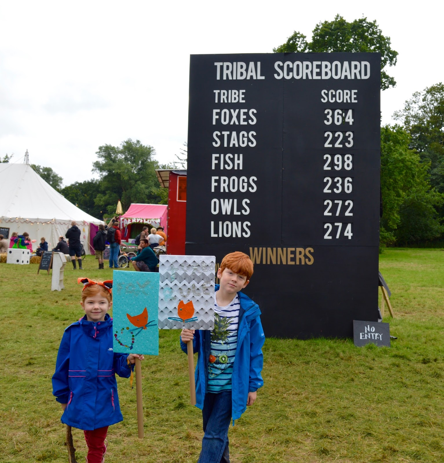 33 Reasons we LOVED the Just So Festival 2016 - Tribal Tournament leaderboard