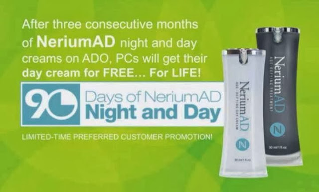 Nerium AD age defying Day Cream free for life