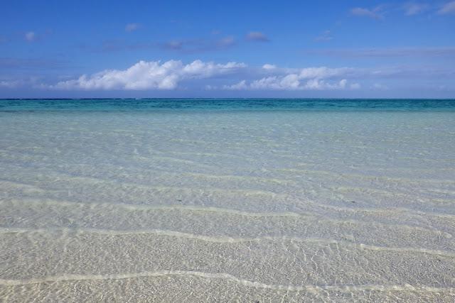 Heron Island Strand Wasser Meer klar türkisblau Traumstrand