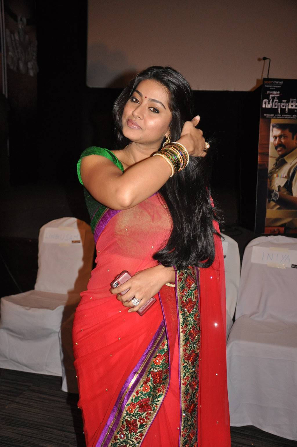 Actress Sneha Saree Photos  Actress Saree Photossaree -7483
