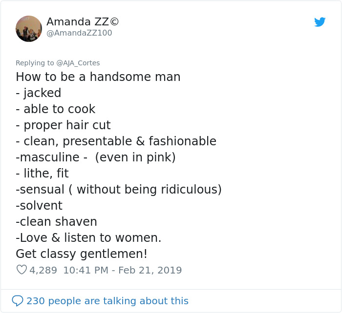 A Misogynist Shared A Post With 12 Rules For 'Beautiful Women' And People Are Destroying Him