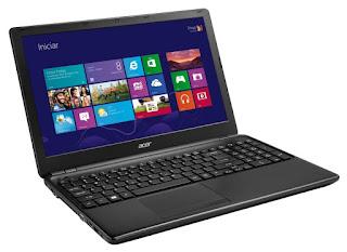 Notebook Acer E5