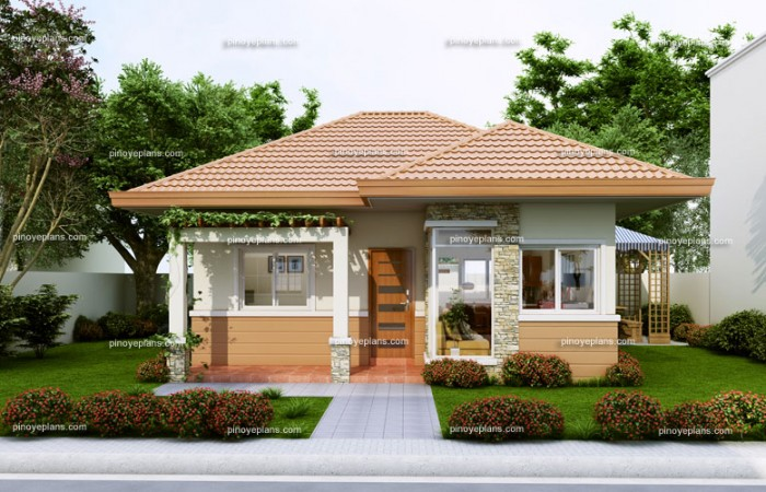Rough Finished Budget For This House Design Is P720 000 To P840