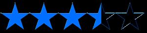 3,5 estrelas