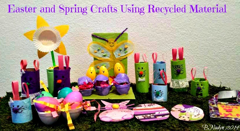 Easter Spring Kids' Crafts