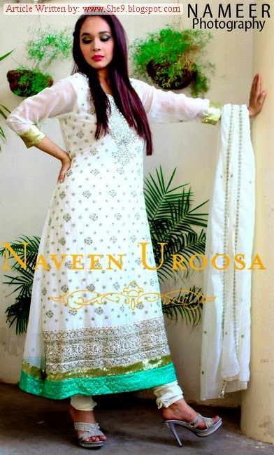 Fancy Formal Dress Colleciton by Naveen Uroosa