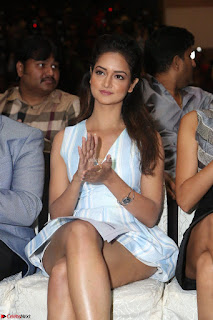 Shanvi Looks super cute in Small Mini Dress at IIFA Utsavam Awards press meet 27th March 2017 77.JPG