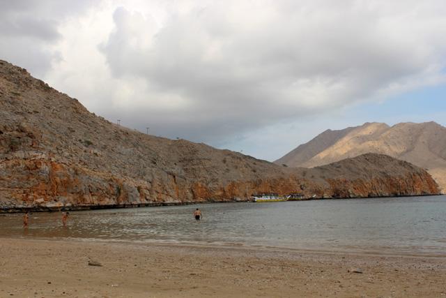 Playa de Haffa, en el golfo de Omán