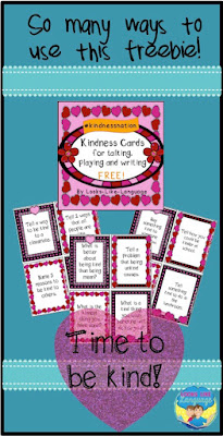 There's so many ways to use these kindness cards from Looks-Like-Language!