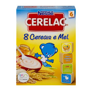 Nestlé cerelac 8 cereais e mel