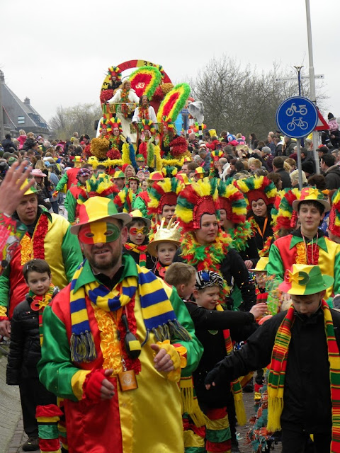 Carnaval in Delft The Netherlands