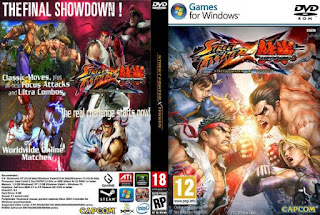 Download Game Street Fighter X Tekken Gratis (Permainan Pertarungan Super Hero) Cover