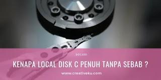 Local Disk C Penuh tanpa Sebab