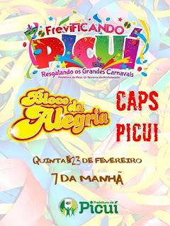 Prefeitura Municipal de Picuí abre oficialmente o FreviFICANDO Picuí nesta quinta-feira (23)