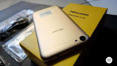 Unboxing Hisense F30 / Hisense Pureshot Lite back cover