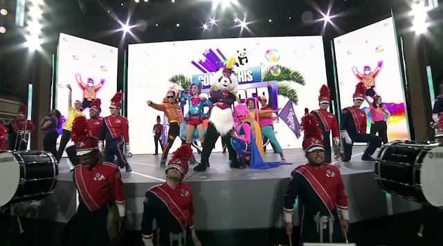 Ubisoft E3 2018 conference Panda Just Dance 2019 concert marching band