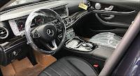 Mercedes E250 2017 đã qua sử dụng nội thất Đen