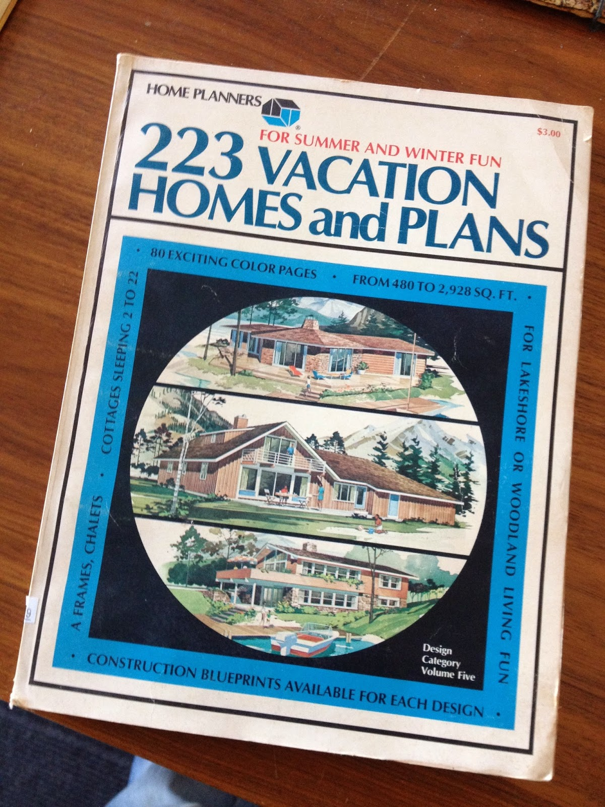 mid-century vacation homes plans catalog book