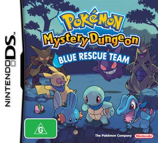 Pokémon mundo misterioso equipo de rescate azul screenshots.