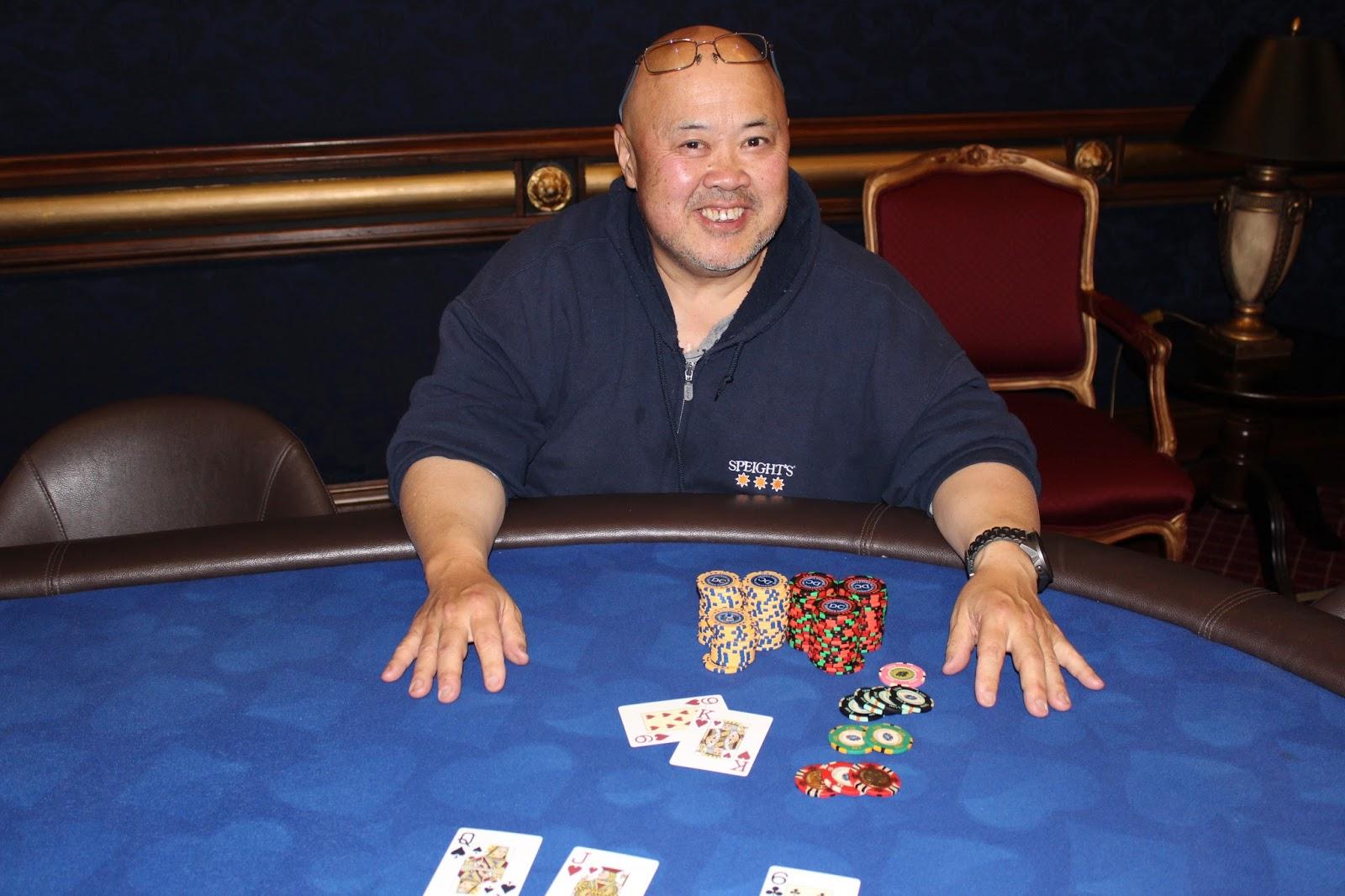 Dunedin Casino Poker Texas Hold'em Winner