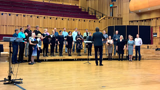 Kaspars Putnins and Estonian Philharmonic Chamber Choir at Hoddinott Hall