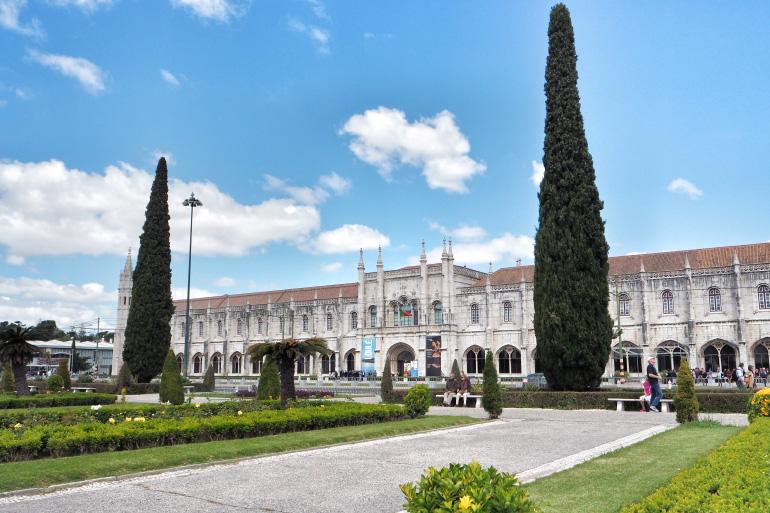 Monastère des Hiéronymites dans la ville de Lisbonne