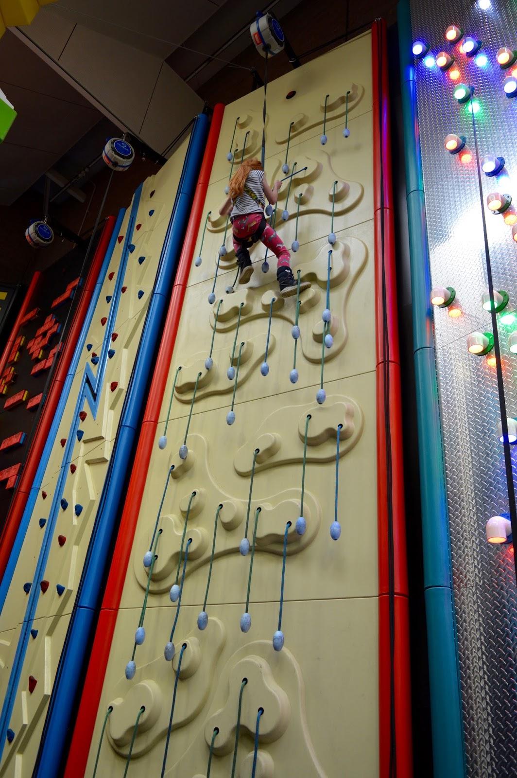 Clip n Climb climbing wall - Concordia Cramlington