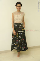 Taapsee Pannu in transparent top at Anando hma theatrical trailer launch ~  Exclusive 111.JPG